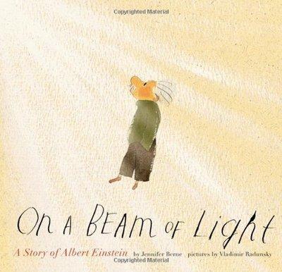 *小P書樂園.* On a Beam of Light: A Story of Albert Einstein 平裝