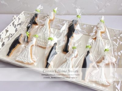 【Connie's Home Sweets】Wedding cookies icing cookie 結婚回禮曲奇 糖霜曲奇