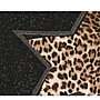 日韓服飾*免運費商品*豹紋高領上衣(灰色)*韓國連線**現貨*精緻剪裁款*原價500-特價388**3s潮流屋