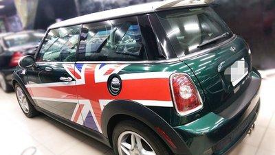 凱威車藝 專業汽機車彩貼彩繪 mini cooper M3 E92 E90 Subaru Golf gti 7代