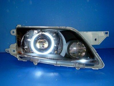 小亞車燈╠ 全新 超亮 手工版 PREMACY 燻黑 CCFL 光圈 電動 遠近 魚眼 大燈