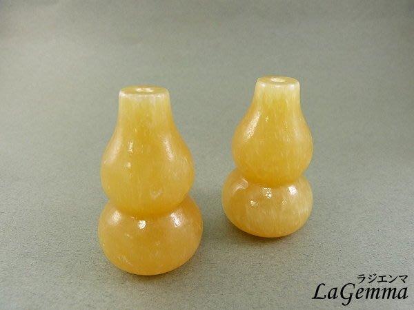 ☆寶峻晶石☆特價兩個$299~黃玉葫蘆擺飾, 可DIY成吊飾 葫蘆具有福祿的諧音象徵 招財納福的吉祥物