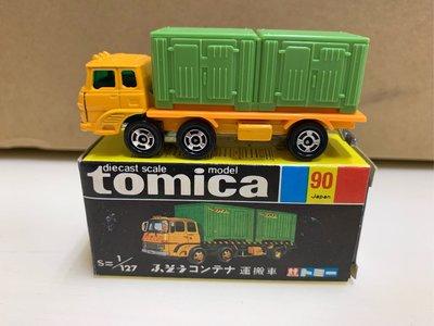 [現貨]Tomica 多美 日製 黑盒 No.90 運搬車