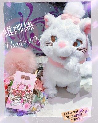 日本迪士尼store~瑪莉貓坐姿絨毛娃娃venice維娜絲日本連線代購