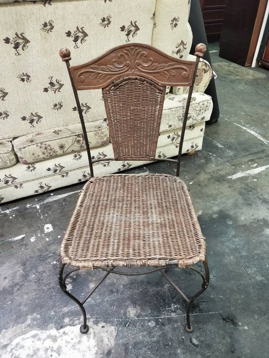 非凡二手家具 南洋風 鍛造編織椅*藤椅*餐椅*戶外椅*咖啡椅*公婆椅*辦公椅*洽談椅*接待椅