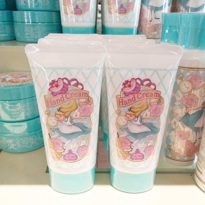Ariel's Wish-日本東京迪士尼愛麗絲Alice妙妙貓時鐘兔花園下午茶園區內限量款護手霜護手乳液-日本製現貨