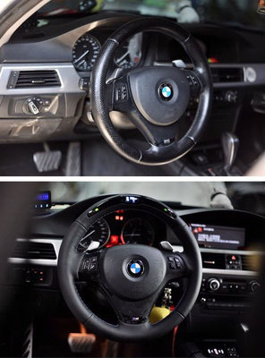 CS車宮車業 STAR POWER Steering Wheel 電子 顯示 方向盤 BMW 德系