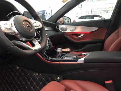台中 巨博專業汽車影音 賓士 BENZ  3色 12色  十二色氣氛燈 W177 W205 X253 GLC  氣氛燈