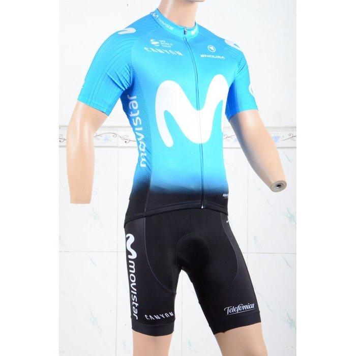 【綠色運動】18绿M短自行車套裝 車衣 車褲 透氣 排汗 快乾腳踏車衣