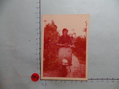 偉士牌,老機車,摩托車,古董黑白,照片,相片1
