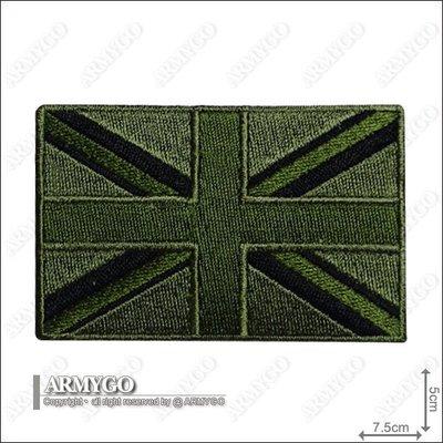 【ARMYGO】英國國旗 (低識度版)