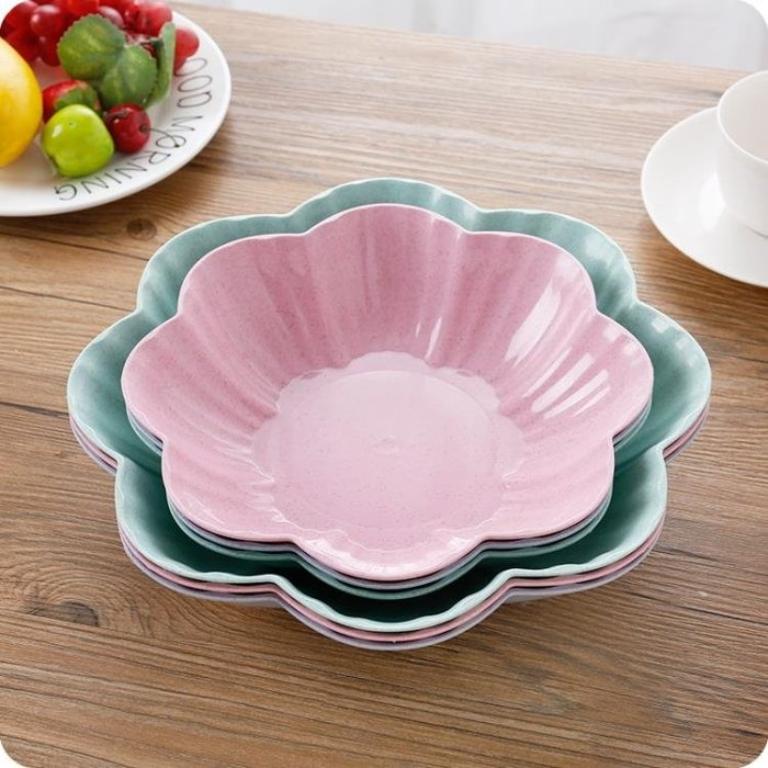 創意歐式家用水果盤客廳茶幾塑料糖果盤干果盤辦公室零食盤小果盤Y-優思思