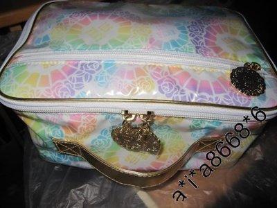 Anna Sui 魔法彩圖手挽 化裝袋