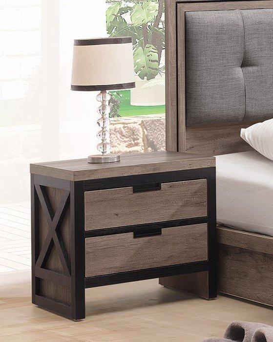 漢諾威床頭櫃/邊桌 👍台灣製造👍另有系列家具😊暖暖屋傢俱傢飾😊
