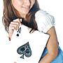 心臟病 梭哈 十點半 21點 防詐賭指定專用A4超大撲克牌29×21cm永和樂華格子趣自取 450元