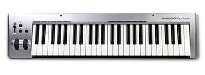 造韻樂器音響- JU-MUSIC - 全新 AVID M-Audio Keystudio 49鍵 主控鍵盤 含 錄音介面 ProTools 另有 akai