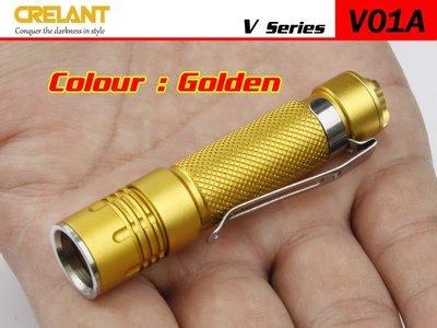{MPower} Crelant V01A 美國名廠 CREE XP-E LED 108 流明 LED Flashlight 電筒 ( AAA, 3A, 10440 ) - 原裝行貨