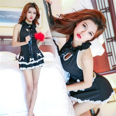 Sexy Cosplay Lingerie Porn Role Play Sex Clothes French Maid