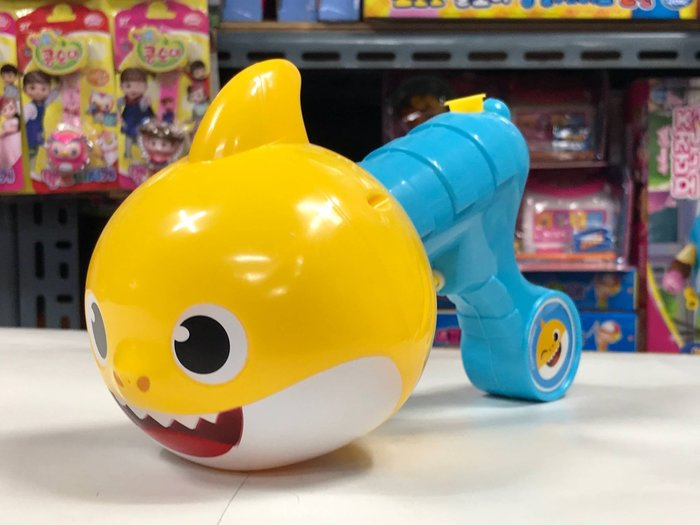 『※妳好,可愛※』寶貝鯊魚水槍 鯊魚一家 韓國正品 有雷射防偽標籤 玩具水槍