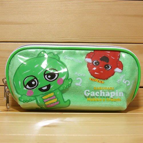 *凱西小舖*日本進口正版GACHAPIN X MUKKU穆克小恐龍收納/化妝包/筆袋