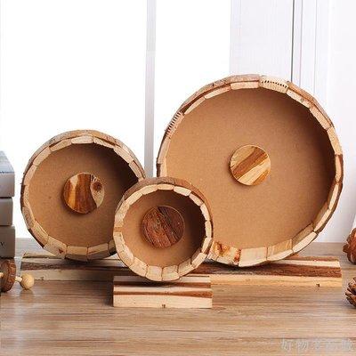 好物多商城 倉鼠豚鼠龍貓 金絲熊刺猬松鼠用品木制靜音跑輪轉輪滾輪實木玩具