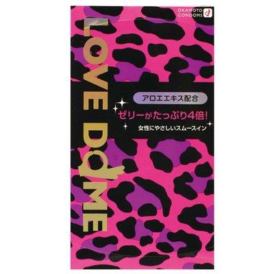 【TOP SEXY BABY】#1834 岡本 Love Dome Panther 4倍潤滑安全套 12片裝 避孕套 condoms condom dom