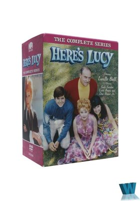 外貿影音 高清原版美劇DVD Here's Lucy 這是露西 完整版 24碟片 未刪減