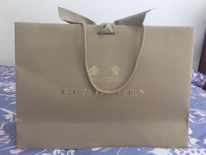 BURBERRY 紙袋 提袋42*30*12
