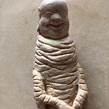 【珍華堂】竹根雕精品手把件-名家楊吉作品-人參娃娃-藝術品雕刻件擺件-全新之二