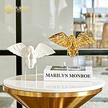 〖洋碼頭〗小天使擺件歐式酒櫃客廳創意卡通人物裝飾品樣板間書櫃桌面擺設 jwn586