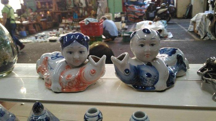 代PO琉晶坊/金童玉女瓷器880