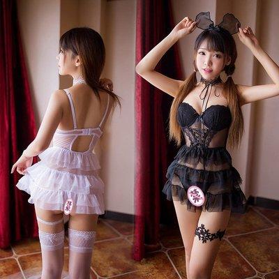 【台灣發貨】情趣內衣 鋼托聚攏塑身馬甲棉墊蛋糕公主裙 7738