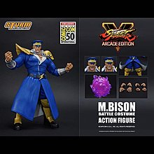 全新現貨 Storm Collectibles Street Fighter :  M Bison Sdcc 2019