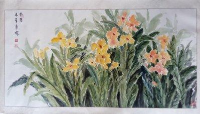 字畫 , 林翠琴 花卉