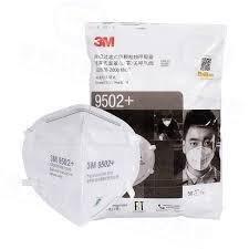 現貨 3M 9502+ KN95  N95 口罩 50入/包 針織帶舒適 頭戴款 9105 9501