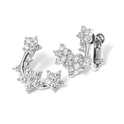 【JHT金宏總珠寶/GIA鑽石專賣】3.6克拉天然鑽石耳環/材質:PT/18K(JB28-A01)