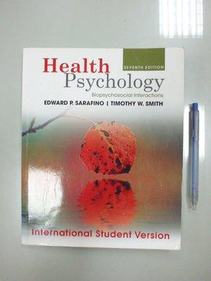 6980銤:C4-5cd☆2012年出版『Health Psychology 7/e』《WILEY》