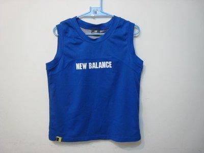 new balance 藍色 運動背心/160