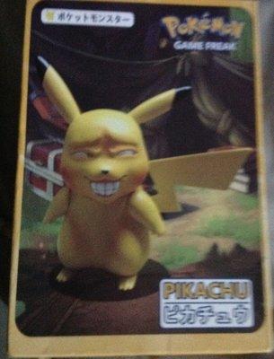全新Pokemon game freak pikachu寶可夢皮卡丘