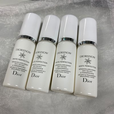 5mlx4 diorsnow white perfection anti-spot & brightening serum 全效亮白抗斑及剔透精華素