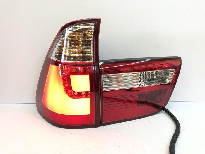 【炬霸科技】BMW 寶馬 X5 E53 LED 尾燈 後燈 導光 98 99 00 01 02 03 04 05 06