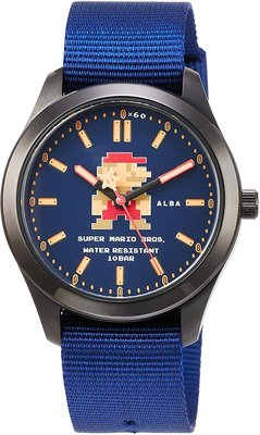 日本正版 SEIKO 精工 ALBA ACCK422 超級瑪利歐 瑪利歐 手錶 日本代購