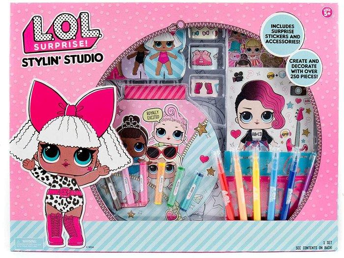預購 美國帶回 L.O.L. Surprise DIY 畫畫組合 貼紙 刮畫 聖誕禮 生日禮