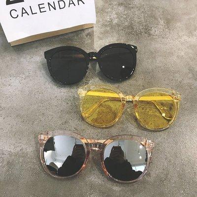 韓國個性時尚墨鏡楊冪范冰冰明星同款太陽鏡潮人氣質復古眼鏡男女