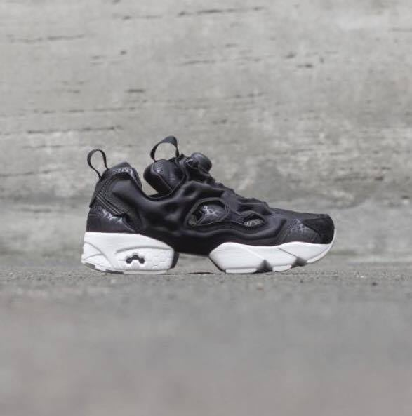 ☆AirRoom☆ REEBOK INSTA PUMP FURY GALLERY 爆裂紋 黑白 3M V70812