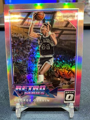 冰人 2017-18 Donruss Optic Retro Series Holo George Gervin