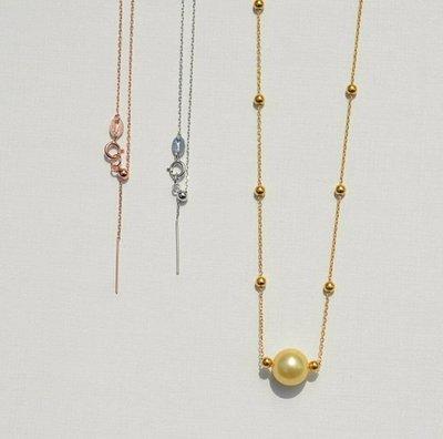 嗨,寶貝銀飾珠寶* 925純銀☆可調節針式 手鍊 十字鍊 穿心鍊 三色 鍍白k,鍍黃k,鍍玫瑰k金 義大利造形手鍊 可以穿1mm以上孔徑