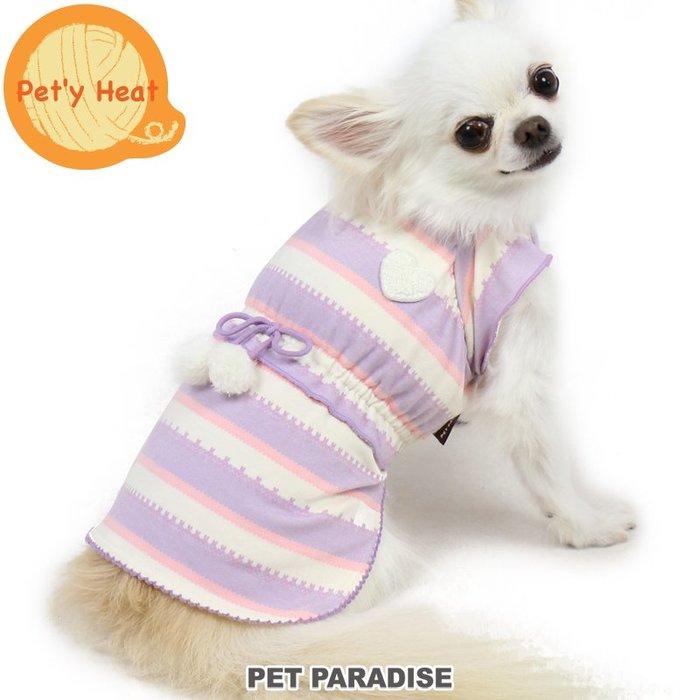 貝果貝果 日本 pet paradise  發熱衣 超柔軟 荷葉繡柔軟裙  [D12007]