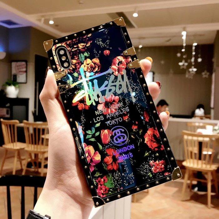 VIVO X9 X9S X20 PLUS X21 NEX 手機殼 歐美潮牌 復古玫瑰 藍光電鍍 軟殼全包 保護套