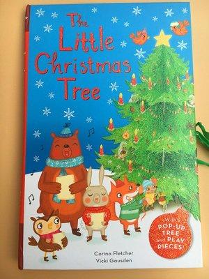 英文繪本童書 The Little Christmas Tree 聖誕節聖誕樹精裝 立體書